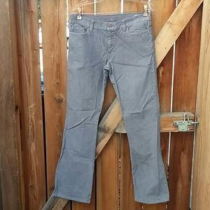 Levis vintage grau corduroy bootcut pants sz 32